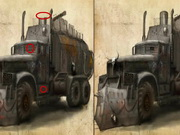 Apocalyptic Trucks Differences Game
