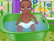 Baby Jamal Bathing Game