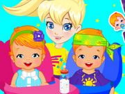 Polly Twins Babysitter Game