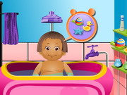 Baby Daisy Bathing Time Game