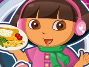 Dora Fish And Chips Game