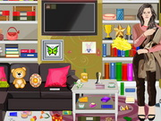 Emma Watson Living Room Cleanings Game