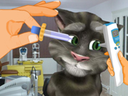 Talking Tom Eye Care Game