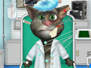 Talking Tom Ambulance Game