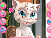 Talking Angela Great Makeover Game