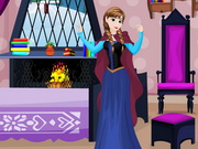Frozen Anna Room Decor Game