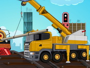Railroad Crane Parking Game
