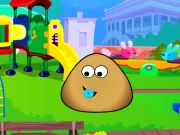Pou Kindergarten Game