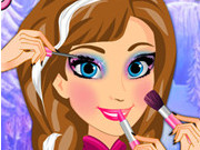 Anna Frozen Makeup School Game