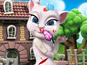 Talking Angela Injury Game