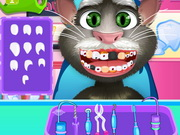Talking Tom Tooth Decoration Game