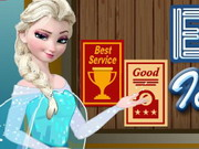 Elsa Ice Cream Shop Game