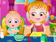 Baby Hazel Sibling Care Game