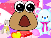Baby Pou Room Decoration Game