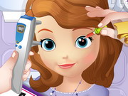 Sofia The First Eye Doctor Game