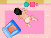 Taking Care For Baby Game