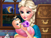 other, baby , girl , kid , elsa , frozen , feeding