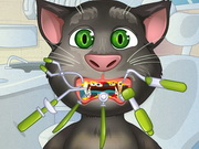 Talking Tom Tooth Problems Game