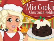 Mia Cooking Christmas Pudding Game