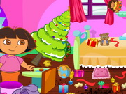 Baby Dora Clean The House Game