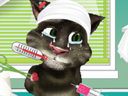 Talking Tom After Injury Game