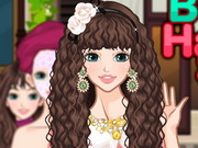 Beauty Hairstyle Salon Game