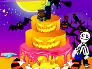 Halloween Cake Decorating