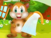 Playful Squirrel Day Care Game