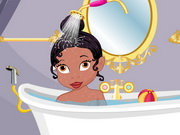 Baby Tiana Shower Bath Game