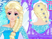 Elsa Royal Hairstyle Game