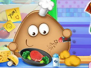 Pou Real Cooking Game