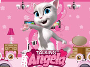 Talking Angela Room Decor Game