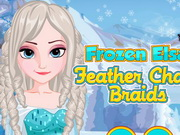 other, girl , hair , makeover,makeup , frozen , elsa , feather , chain , braids