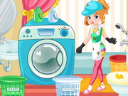 Clumsy Mechanic Laundry Game