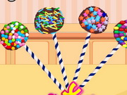 Cooking Cake Pops Game