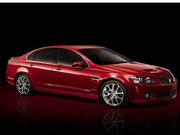 Pontiac G8 Jigsaw Game