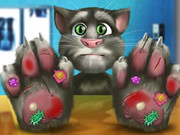 Talking Tom Hand Doctor Game