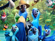 Rio 2 Movie Puzzle Game
