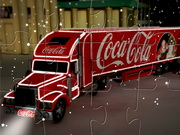 Coca Cola Truck Jigsaw Game