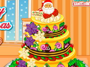 Merry Chrismtas Cake Decoration Game