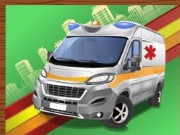 puzzle, boy , girl , jigsaw puzzle , kid , emergency , van , jigsaw , puzzle
