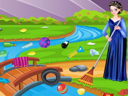Anna Cleaning Environment Game