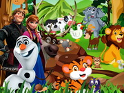 Frozen Forest Animals Game