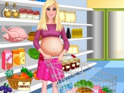 Pregnant Barbie Shopping Game
