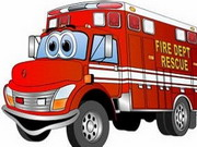Fire Truck Memory Game