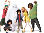Big Hero 6 Jigsaw Puzzle Game