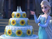 Frozen Fever Cake Game