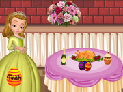 Princess Amber Easter Party Decor Game