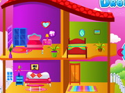 Pretty Princess Doll House Game