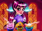 Draculaura Cupcakes Decoration Game